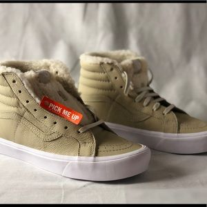 0cf4988d57 Vans Shoes - Vans SK8-Hi Reissue Li Sherpa Cement True White